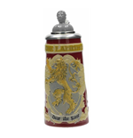 Game of Thrones Bavarian Beer Stein Lannister