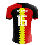 2018-2019 Belgium Flag Concept Football Shirt (Tielemans 16) - Kids