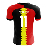 2018-2019 Belgium Flag Concept Football Shirt (Mirallas 11)