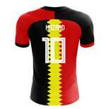 2018-2019 Belgium Flag Concept Football Shirt (Hazard 10) - Kids