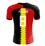 2018-2019 Belgium Flag Concept Football Shirt (Fellaini 8) - Kids