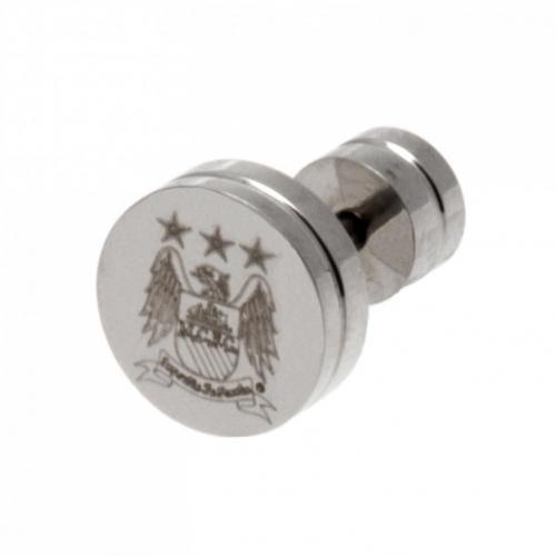 Manchester City F.C. Stainless Steel Stud Earring EC