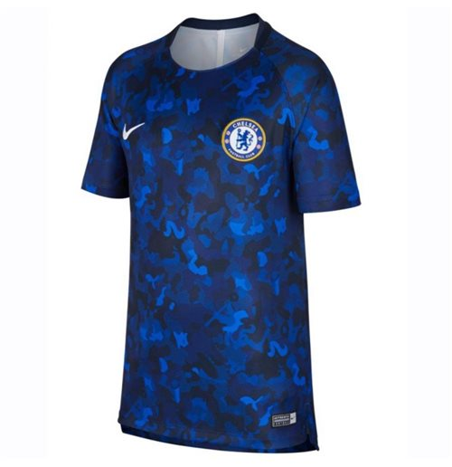 2018-2019 Chelsea Nike Pre-Match Training Shirt (Hyper Cobalt) - Kids