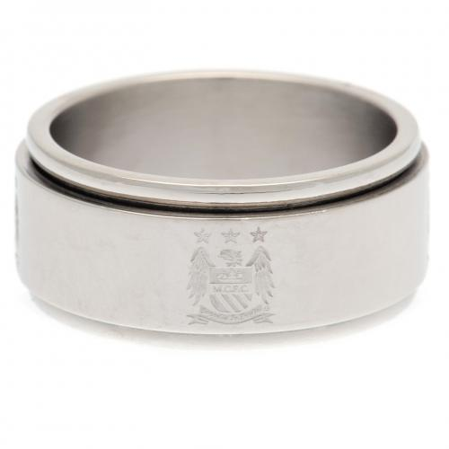 Manchester City F.C. Spinner Ring Large EC