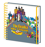 The Beatles: Yellow Submarine Square Notebook