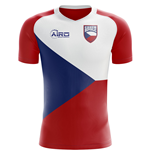 2018-2019 Czech Republic Home Concept Football Shirt
