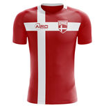 2018-2019 Denmark Flag Concept Football Shirt (Kids)