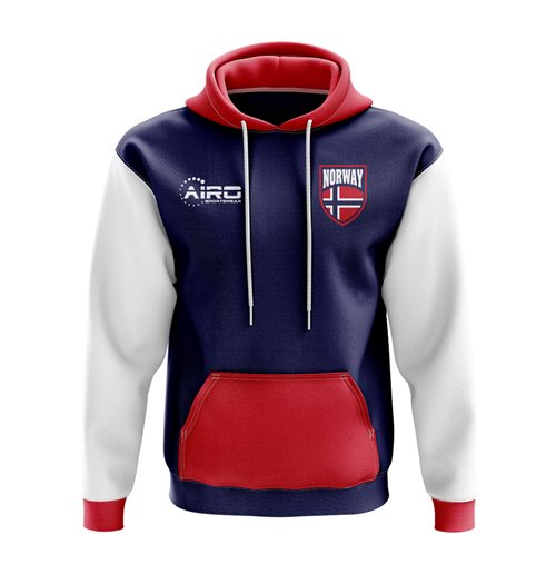 Norway Concept Country Football Hoody (Navy)