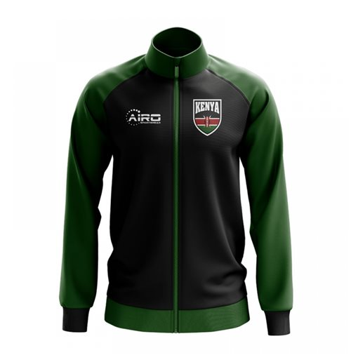 Kenya Concept Football Track Jacket (Black)