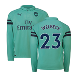 2018-2019 Arsenal Puma Third Long Sleeve Shirt (Welbeck 23)