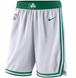 Men's Boston Celtics Nike White Association Edition Swingman Shorts