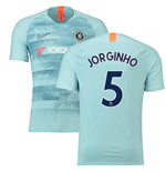 2018-19 Chelsea Third Football Shirt (Jorginho 5) - Kids