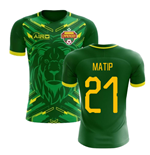 2018-2019 Cameroon Home Concept Football Shirt (Matip 21) - Kids