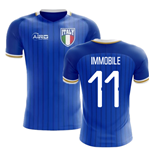 2018-2019 Italy Home Concept Football Shirt (Immobile 11)