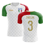 2018-2019 Italy Away Concept Football Shirt (Chiellini 3) - Kids