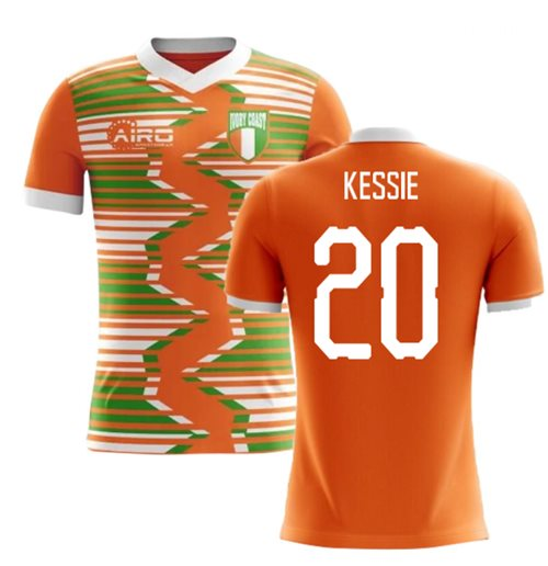 2018-2019 Ivory Coast Home Concept Football Shirt (Kessie 20)