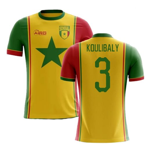 2018-2019 Senegal Third Concept Football Shirt (Koulibaly 3)