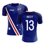 2018-2019 Australia Flag Away Concept Football Shirt (Mooy 13)