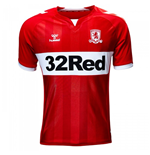 2018-2019 Middlesbrough Hummel Home Football Shirt