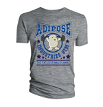 Doctor Who Men's Tee: Adipose Gym (Sports Grey)