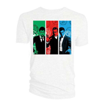 Doctor Who Men's Tee: Red, Green, Blue Doctors