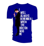 Doctor Who Men's Tee: I Will Always Remember When The Doctor Was Me