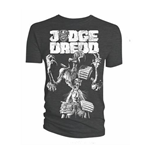 2000 AD Men's Tee: Judge Death Cover