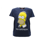 The Simpsons T-shirt No Opinion
