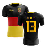 2018-2019 Germany Flag Concept Football Shirt (Muller 13)