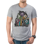 Pink Floyd - Prism Illustration - Unisex T-shirt Grey