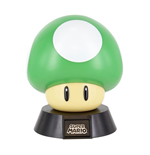Super Mario Bros 3D Icon Light 1Up Mushroom 10 cm