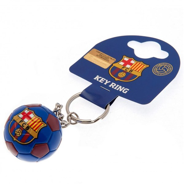 F.C. Barcelona Football Keyring