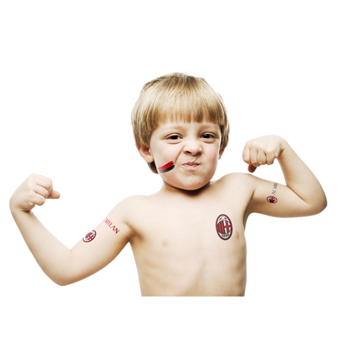 AC Milan Temporary Tattoos