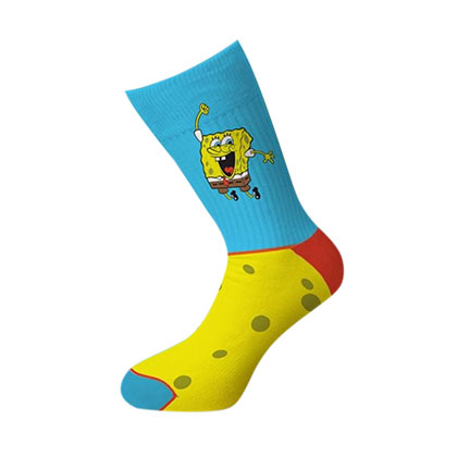 Spongebob Cheerful Crew Socks