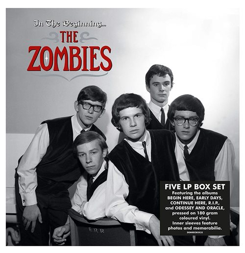 Vynil Zombies - Zombies: In The Beginning (5 Lp)