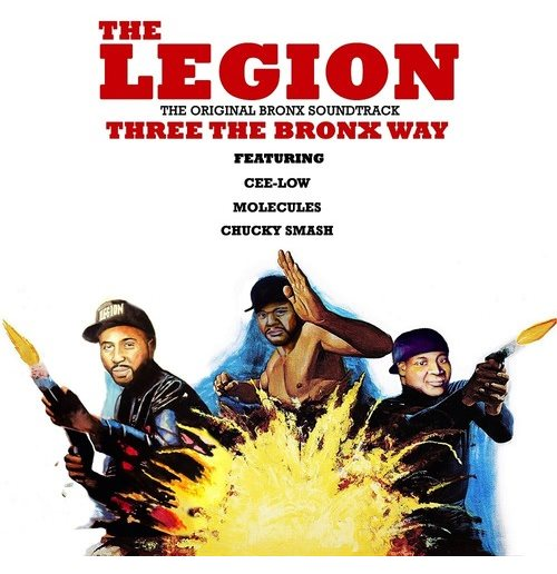 Vynil Legion - Three The Bronx Way