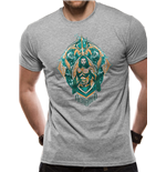 Aquaman Movie - Crest - Unisex T-shirt Grey