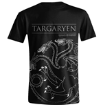 Game of Thrones: Targaryen House Sigil Black T-shirt (Unisex)