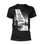Plan 9 - Plan 9 From Outer Space T-shirt Plan 9 From Outer Space - Poster (black And WHITE)