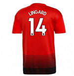 2018-2019 Man Utd Adidas Home Football Shirt (Lingard 14) - Kids