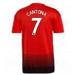 2018-2019 Man Utd Adidas Home Football Shirt (Cantona 7)