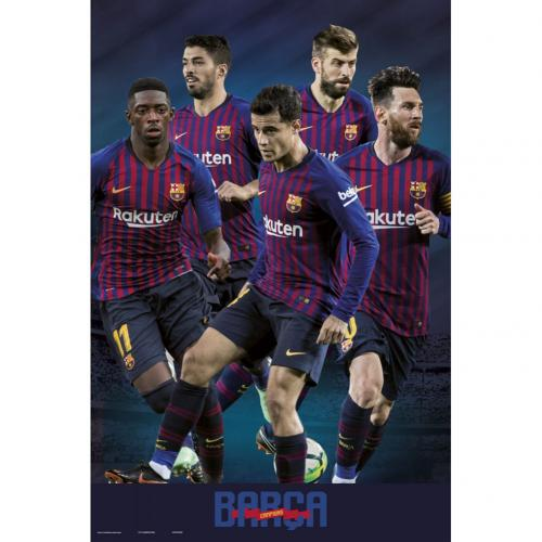 F.C. Barcelona Poster Players 41