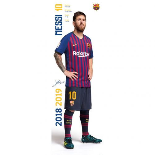 F.C. Barcelona Door Poster Messi 312