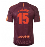 2017-18 Barcelona Nike Third Shirt (Paulinho 15) - Kids