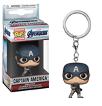 Avengers Endgame Pocket POP! Vinyl Keychain Captain America 4 cm