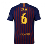 2018-2019 Barcelona Home Nike Football Shirt (Xavi 6)