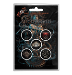 Meshuggah Button Badge Pack: Violent Sleep of Reason (Retail Pack)