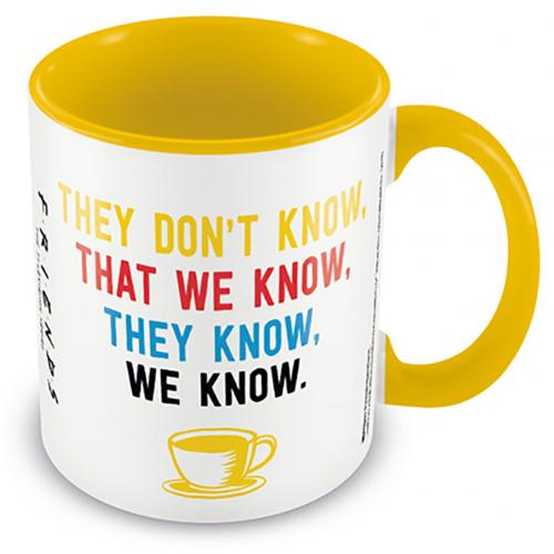 Friends Colour Mug We Know
