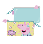 EONE-Peppa Pig Cosmetic/toilet bag with pocket  24  x 14 cm cm