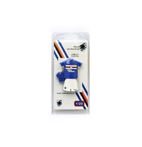 UC Sampdoria Memory Stick Football Shirt 8 GB